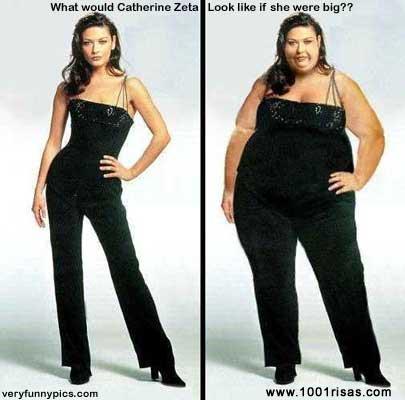 Estás en Fotos > Famosas flacas y gordas