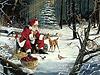 Fondo de Papa Noel